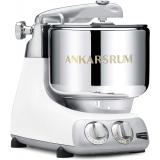 Ankarsrum Original 6230 Stainless Steel 7 Liter Stand Mixer  – White - 220V UAE/GCC/Europe/UK Version