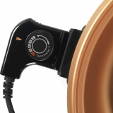 Giles & Posner EK4247 Copper Non-Stick Coated Electric Skillet 5 Heat Settings - 220v UK/UAE