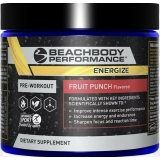 Beachbody Performance Line Energize Fruit Punch Pre-Workout Energy 260g Tub