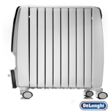 De'Longhi Dragon4 2kW Eco Oil Filled Radiator Digital 900W,1100W,2000W thermostat - UAE UK 220v