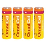 4x OmniCel ER14505 3.6V 2400mAh AA Lithium Button Top Battery RFID Beacons AMR
